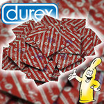 Durex London Mansikka Kondomi 1kpl