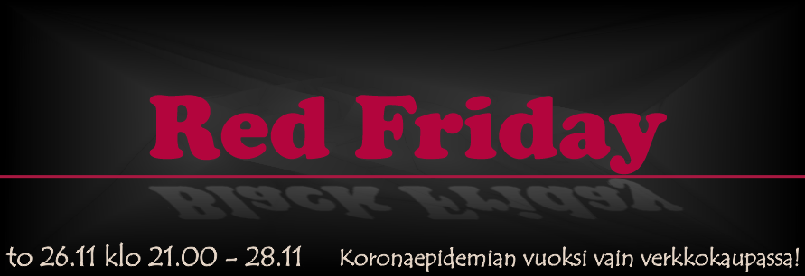 Black Friday on Red Friday